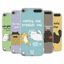 HEAD CASE CEILING CAT VS BASEMENT CAT GEL CASE FOR APPLE iPOD TOUCH 5G 5TH GEN