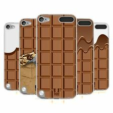 HEAD CASE CHOCOLATY SILICONE GEL CASE FOR APPLE iPOD TOUCH 5G 5TH GEN