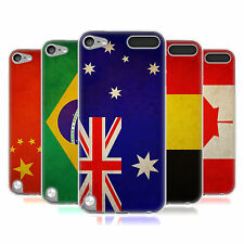 HEAD CASE VINTAGE FLAGS SET 1 SILICONE GEL CASE FOR APPLE iPOD TOUCH 5G 5TH GEN