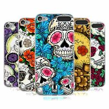 HEAD CASE FLORID OF SKULLS SILICONE GEL CASE FOR APPLE iPOD TOUCH 5G 5TH GEN
