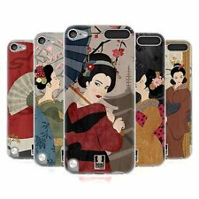 HEAD CASE GEISHA SILICONE GEL CASE FOR APPLE iPOD TOUCH 5G 5TH GEN