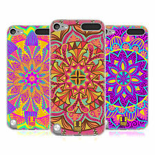 HEAD CASE MANDALA FLOWERS SILICONE GEL CASE FOR APPLE iPOD TOUCH 5G 5TH GEN