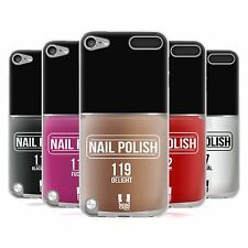 HEAD CASE NAIL POLISH SILICONE GEL CASE FOR APPLE iPOD TOUCH 5G 5TH GEN