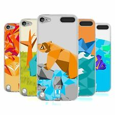HEAD CASE ORIGAMI SILICONE GEL CASE FOR APPLE iPOD TOUCH 5G 5TH GEN