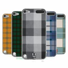 HEAD CASE PLAID PATTERN SILICONE GEL CASE FOR APPLE iPOD TOUCH 5G 5TH GEN