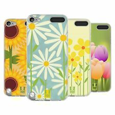 HEAD CASE ROMANTIC FLOWERS SILICONE GEL CASE FOR APPLE iPOD TOUCH 5G 5TH GEN