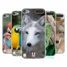 HEAD CASE FAMOUS ANIMALS SILICONE GEL CASE FOR APPLE iPOD TOUCH 5G 5TH GEN