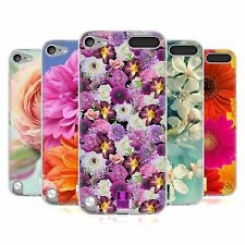 HEAD CASE FLOWERS SILICONE GEL CASE FOR APPLE iPOD TOUCH 5G 5TH GEN