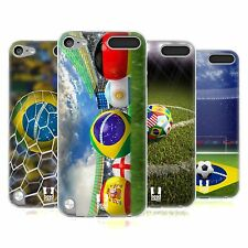 HEAD CASE FOOTBALL SNAPSHOTS SILICONE GEL CASE FOR APPLE iPOD TOUCH 5G 5TH GEN