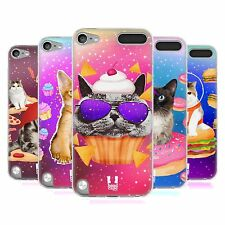 HEAD CASE REALISTIC CATS SILICONE GEL CASE FOR APPLE iPOD TOUCH 5G 5TH GEN