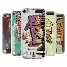HEAD CASE POSTCARDS SILICONE GEL CASE FOR APPLE iPOD TOUCH 5G 5TH GEN