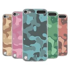 HEAD CASE SOFT CAMOUFLAGE SILICONE GEL CASE FOR APPLE iPOD TOUCH 5G 5TH GEN