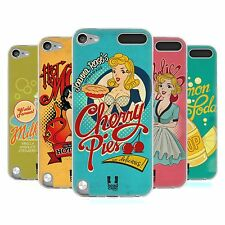 HEAD CASE VINTAGE ADS SERIES 1 SILICONE GEL CASE FOR APPLE iPOD TOUCH 5G 5TH GEN