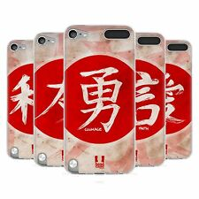 HEAD CASE KANJI SILICONE GEL CASE FOR APPLE iPOD TOUCH 5G 5TH GEN