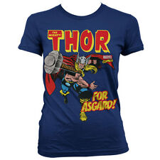 LADIES Official Licensed MARVEL THOR For Asgard! T-Shirt