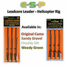 ESP Heli Rig Leadcore Leader's *All Types And Length's* Carp Fishing