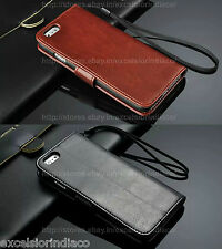 Premium Classic Leather Wallet Flip Cover Case for Apple iPhone 6/6s (4.7 inch)