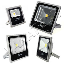 FARO FARETTO LED ULTRA SLIM ALTA LUMINOSITA' 10W 20W 30W 50W  IP66 WATERPROOF