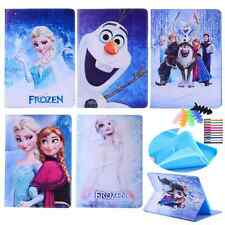 For iPad mini 3 2 1 iPad 2 3 4 Air  frozen princess leather case cover cartoon