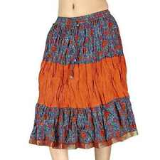 Rajasthani Multicolour Designer Cotton Skirt Designer Cotton Skirt EIDLI4SKT191