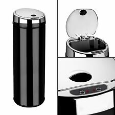 Dihl 30L 42L 50L Origin Round Black Kitchen Waste Automatic Sensor Bin