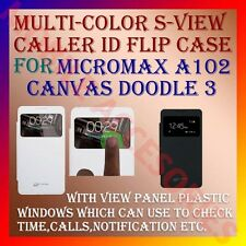 ACM-S-VIEW SMART RICH LEATHER FLIP CASE for MICROMAX A102 CANVAS DOODLE 3 COVER