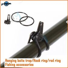 Attache accroche leurre pour canne spinning casting rod easy keeper lures clip