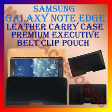 ACM-BELT CASE for SAMSUNG GALAXY NOTE EDGE MOBILE LEATHER POUCH COVER HOLDER NEW