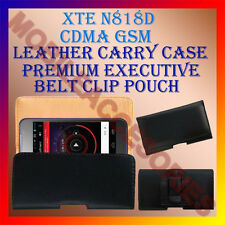ACM-BELT CASE for XTE N818D CDMA GSM MOBILE LEATHER POUCH COVER CLIP HOLDER NEW