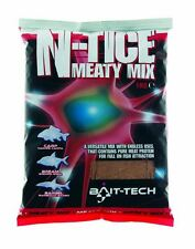 Bait Tech N-Tice Meaty Mix Groundbait 1KG Coarse Match Carp Fishing