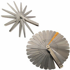 PROFESSIONAL 13 Or 32 BLADE FEELER GAUGE Large Thick Guage Measure Spark Plug