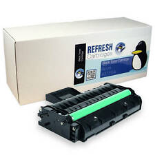 REMANUFACTURED BLACK MONO LASER TONER CARTRIDGE FOR RICOH PRINTERS (407254)