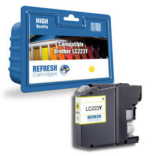 COMPATIBLE LC225XLY HIGH CAPACITY YELLOW INK CARTRIDGE FOR BROTHER PRINTERS