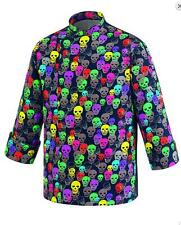 GIACCA  CUOCO CHEF EGOCHEF MADE IN ITALY  COLOR SKULLS クックCEKETCOOK јакна