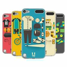 HEAD CASE STARTER PACK SILICONE GEL CASE FOR APPLE iPOD TOUCH 5G 5TH GEN