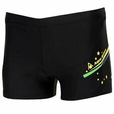 NEW MENS AQUA SPHERE SENNA JAMMERS BLACK SWIMMING TRUNKS SHORTS RRP £19.99