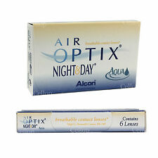 Air Optix Night & Day AQUA Monthly Contact lens Alcon Ciba Vision (6 ea / 1 Box)