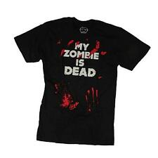 Goodie Two Sleeves Men-Shirt MY ZOMBIE'S DEAD black