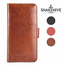 Snakehive® Samsung Galaxy A5 (2015) Leather Folio Wallet Flip Case w/Card Slots