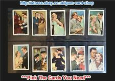 ☆ Gallaher - Famous Film Scenes 1935 (F) ***Pick The Cards You Need***