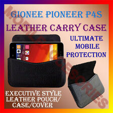 ACM-HORIZONTAL LEATHER CARRY CASE for GIONEE PIONEER P4S MOBILE COVER POUCH NEW