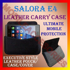 ACM-HORIZONTAL LEATHER CARRY CASE for SALORA E4 MOBILE COVER POUCH HOLDER LATEST