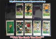 ☆ Lyons Maid International Footballers 1972 (G/F) ***Pick The Cards You Need***