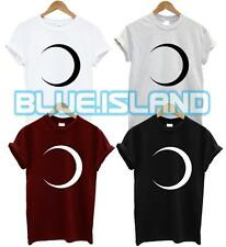 MOON T SHIRT SEMI CIRCLE SPACE HIPSTER FRESH ECLIPSE SUN SWAG DOPE UNISEX NEW