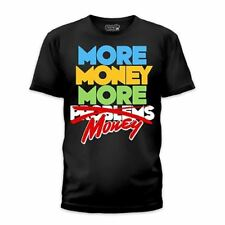Goodie Two Sleeves Men-Shirt MORE MONEY black