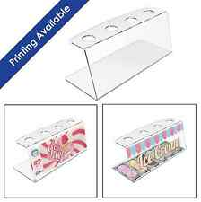 Acrylic Ice Cream Cone Holder Counter Top Display Stand Perspex Rack