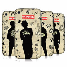 OFFICIAL ONE DIRECTION 1D  SILHOUETTES HARD BACK CASE FOR APPLE iPHONE 3GS