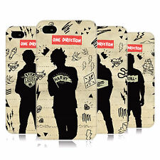 OFFICIAL ONE DIRECTION 1D  SILHOUETTES HARD BACK CASE FOR APPLE iPHONE 4