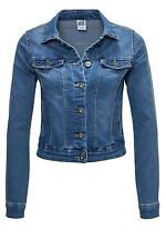 Vero Moda Damen Jeansjacke leichte Jeans Jacke Women Denim Jacket Medium Blue