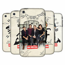OFFICIAL ONE DIRECTION 1D PHOTO DOODLE HARD BACK CASE FOR APPLE iPHONE 3GS